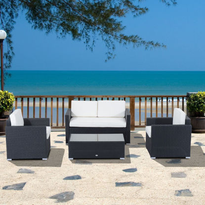 Picture of Outdoor Sectional Patio Furniture Set