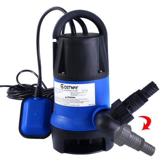 Picture of 1/2HP Submersible Dirty Clean Water Pump Flooding Swimming Pool