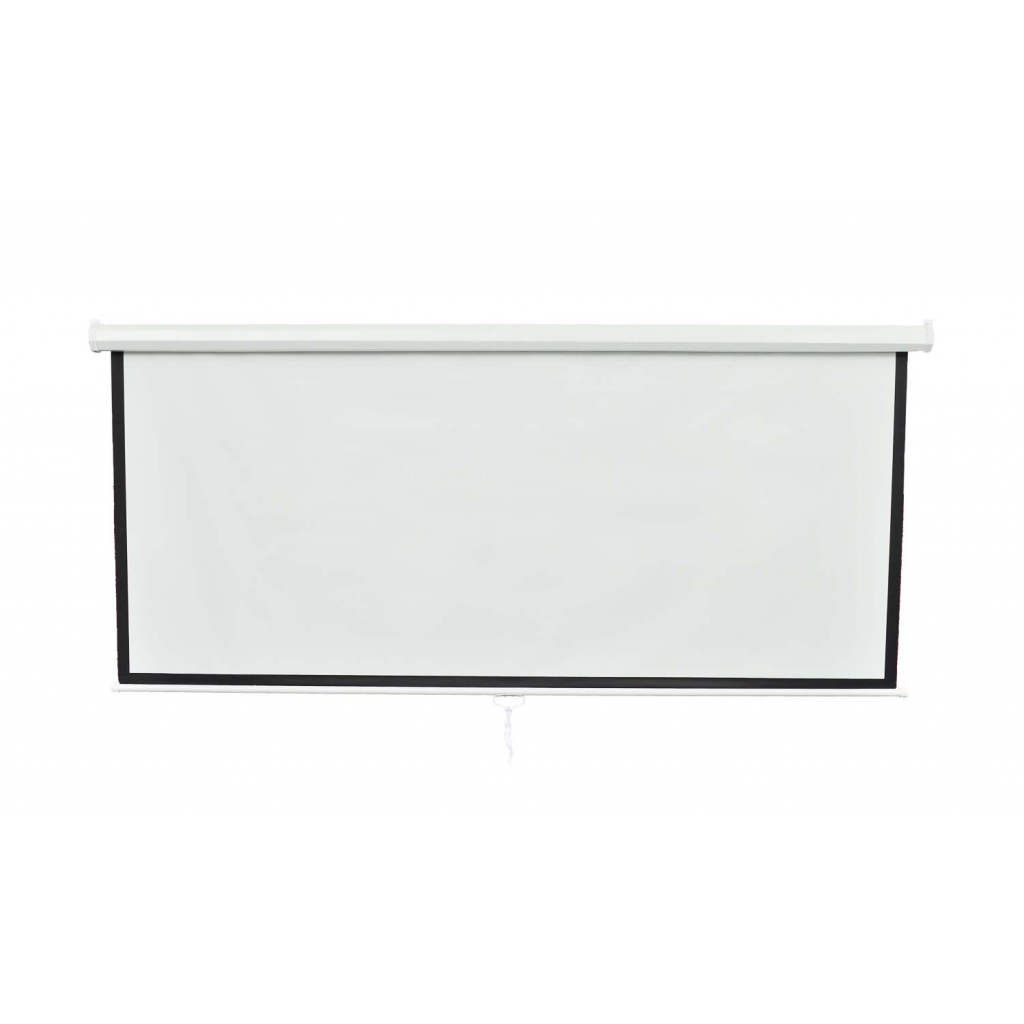 """Picture of 100"""" 4:3 Portable Manual Projection Screen Movie Theater"""