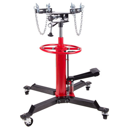 Picture of 1100 lbs 2 Stage Hydraulic Transmission Jack with 360° Swivel Wheels Lift Hoist