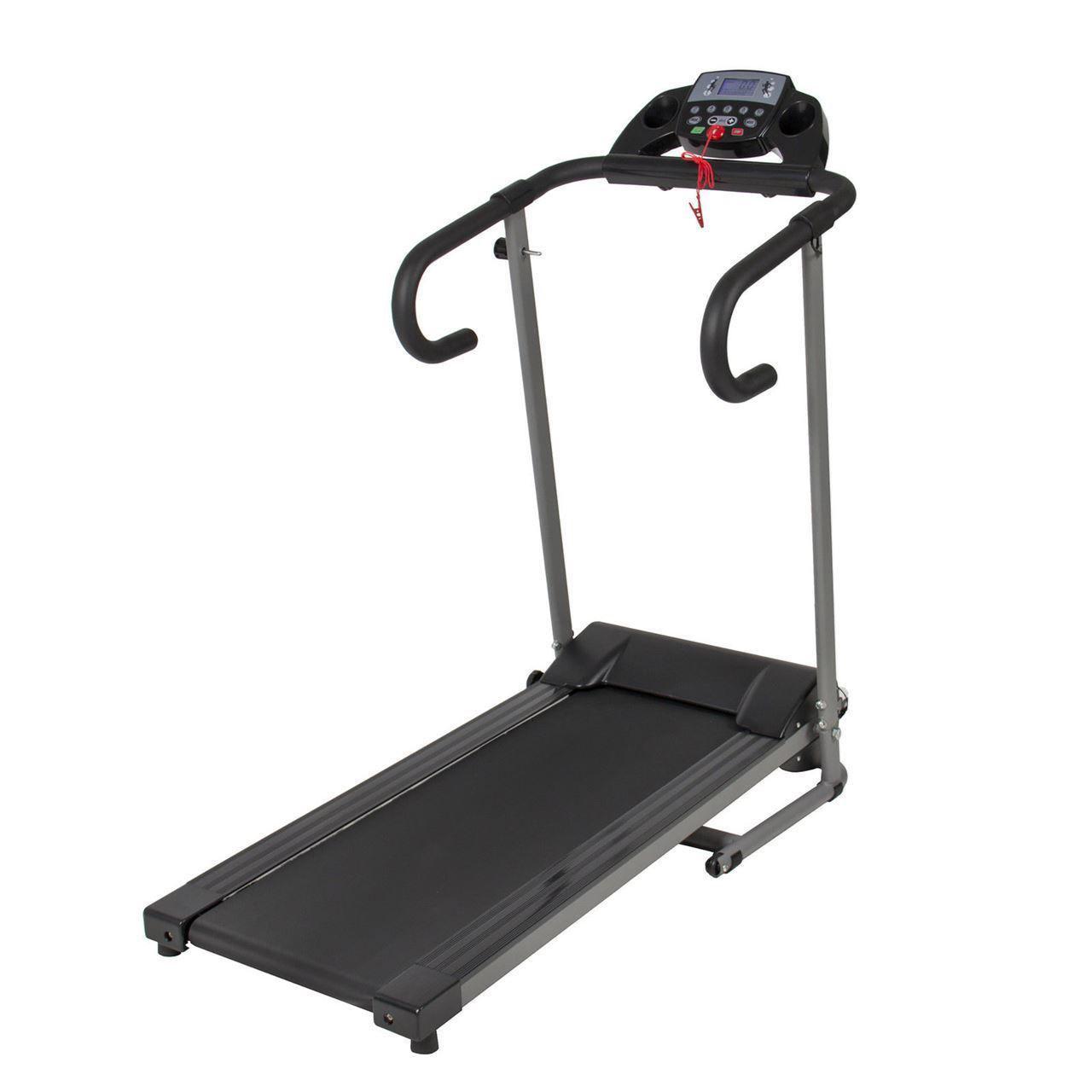 Picture of 1100W Folding Electric Portable Treadmill Orange