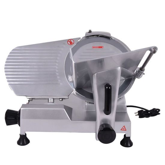 """Picture of 12"""" Blade Commercial Meat Slicer Deli Meat Cheese Food Slicer Industrial Quality"""
