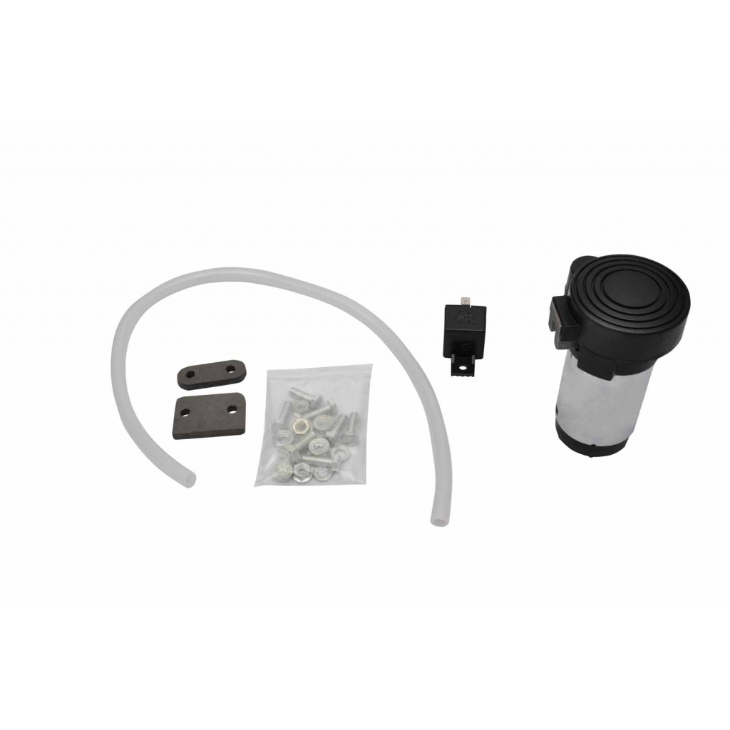 Picture of 120DB Super Loud Single Trumpet Air Horn Kit Including 12V Compressor for Truck Boat Van Train