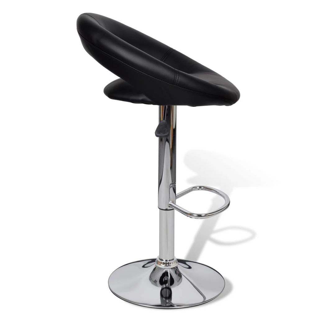 Picture of 2 x Bar Stool Black