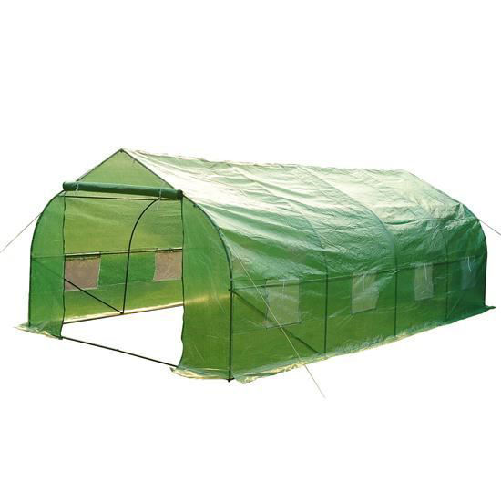 Picture of Portable Walk-In Steeple Garden Greenhouse - 20' x 10' x 7'
