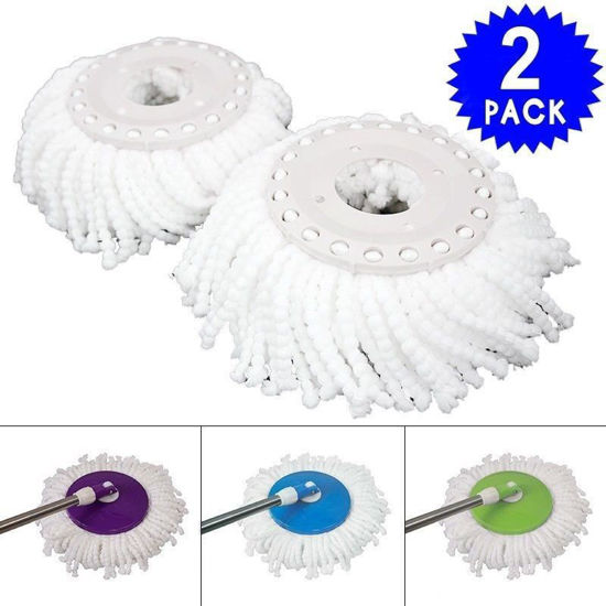 Picture of 360° Spin Magic Mop Micro Head Mop Refill 2 Piece
