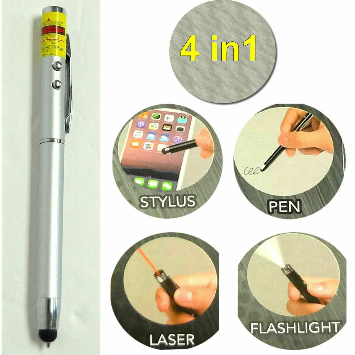 Picture of 4 In 1 Multifunctional Stylus Pen - 1 pc