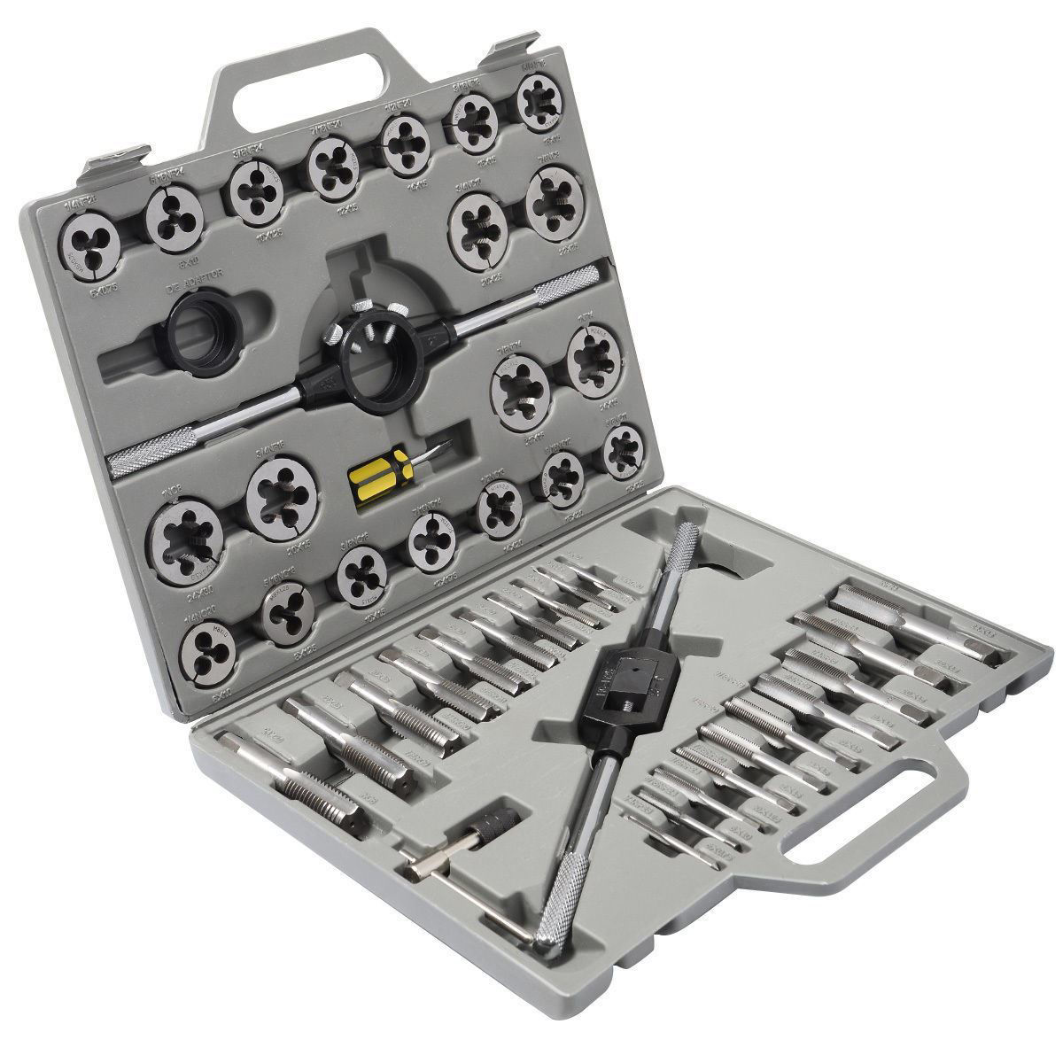 Picture of 45pc HSS Metric Tap and Die Set with Case