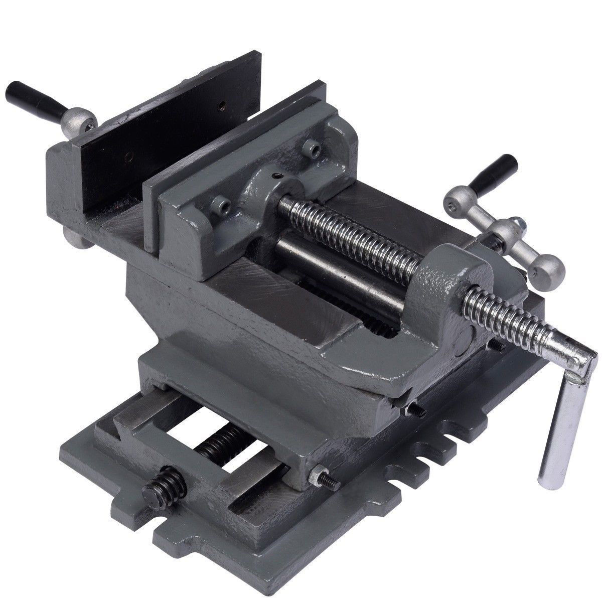 "Picture of 5"" Cross Drill Press Vise"