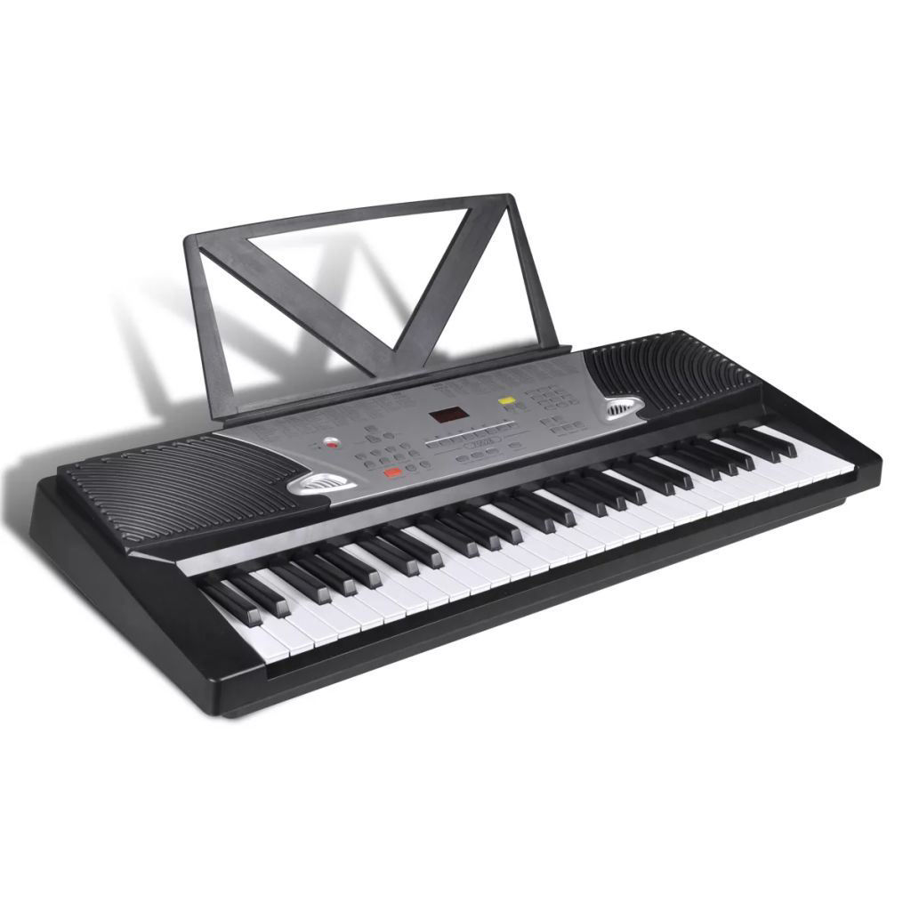 Picture of 54-Key Electric Keyboard with Book Stand