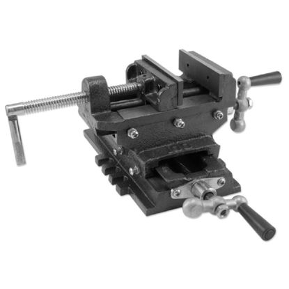 "Picture of 6"" Cross Drill Press Vise Slide Metal Milling 2 Way X-Y Clamp Machine Heavy Duty"