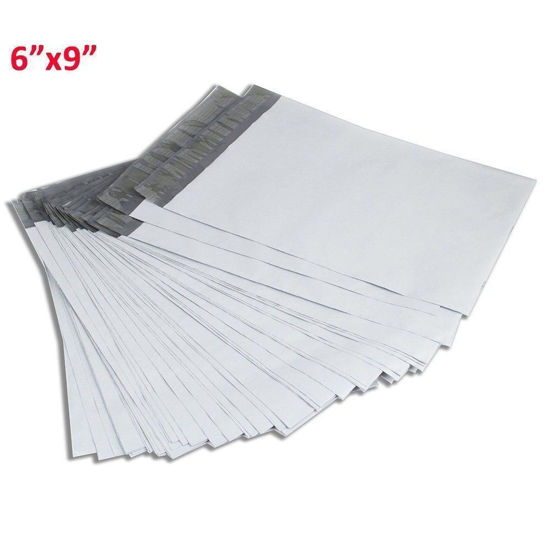 Picture of 6x9 Shipping Envelopes Self Sealing Bags - White - Q-ty 500