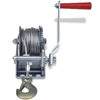 Picture of 800lb Heavy Duty Hand Crank Boat ATV Trailer Winch with Hook