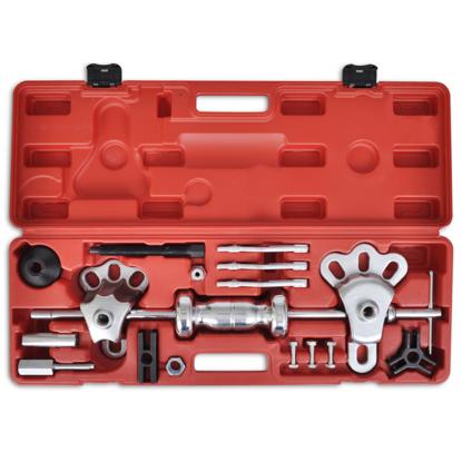 Picture of 9 Ways Steel Slide Hammer Axe/Bearing/ Dent/Hub/Gear Puller Set - 17 pcs