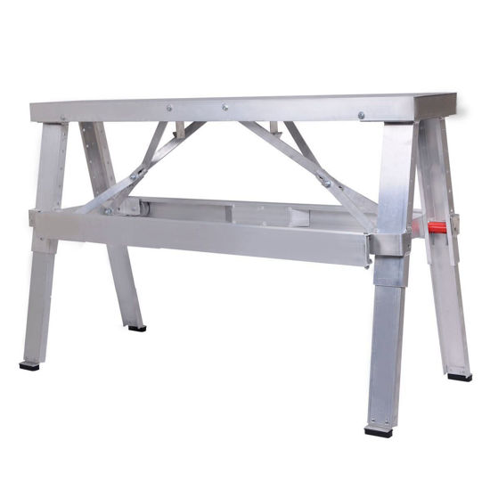 """Picture of Adjustable Aluminum Folding Bench 18""""-30"""""""