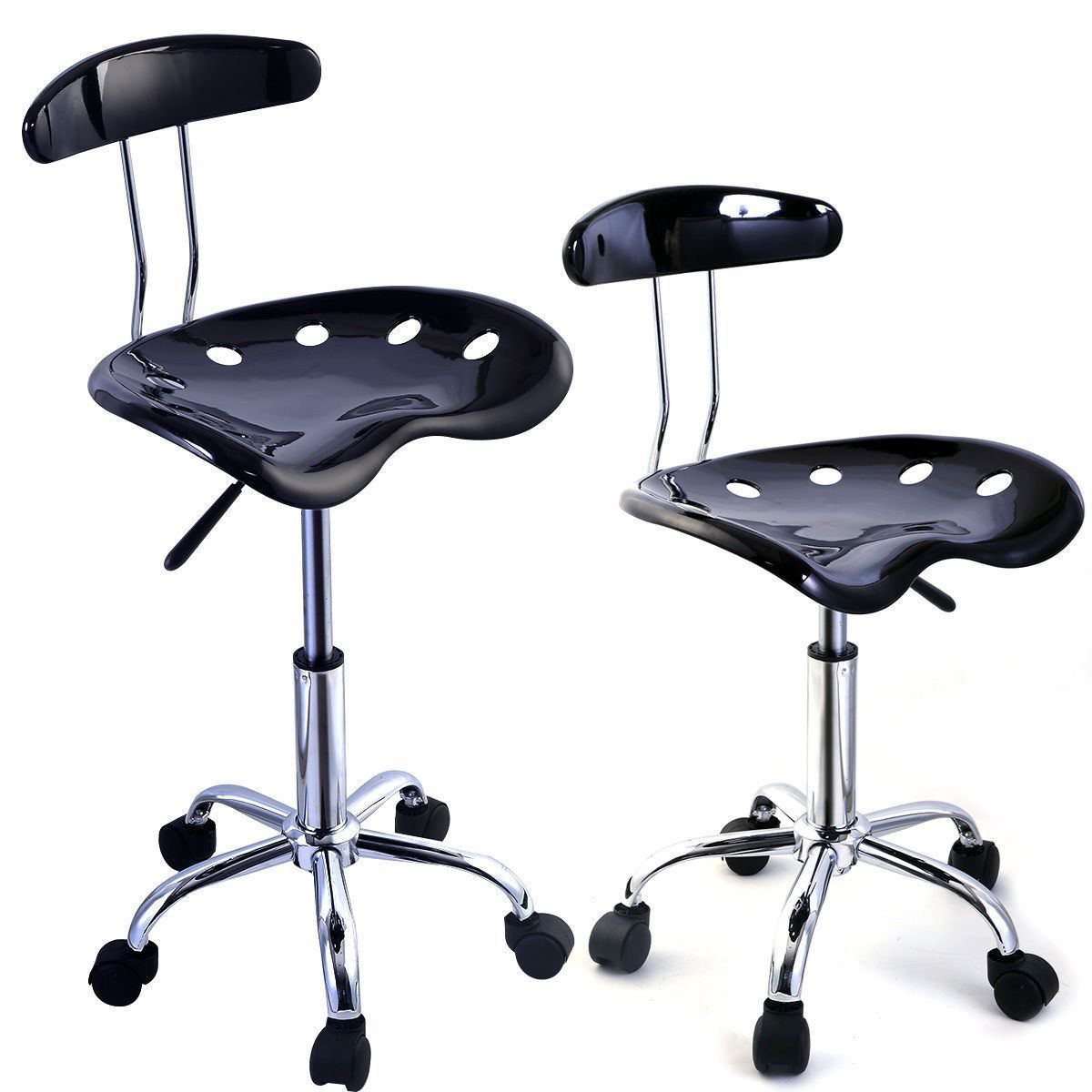 Picture of Adjustable Dining Bar Stools ABS Tractor - 2 Piece