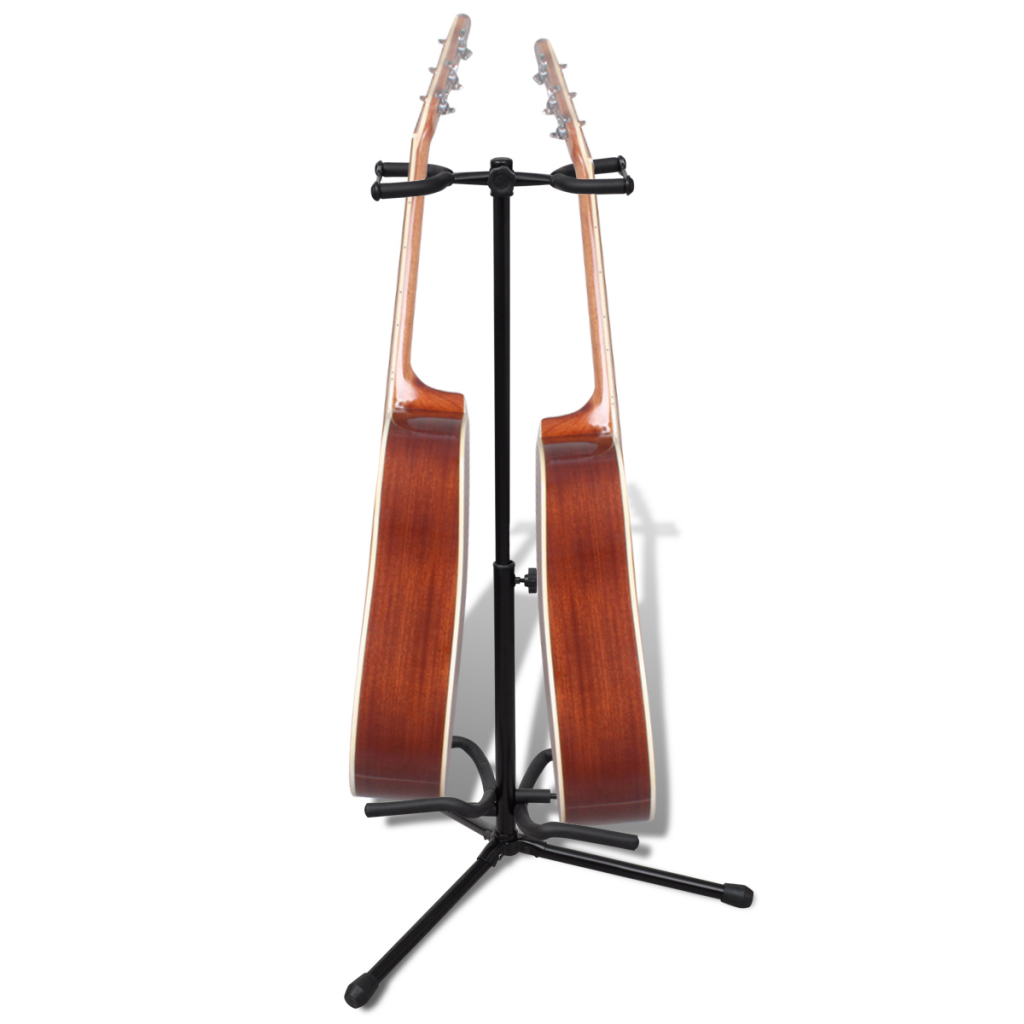 Picture of Adjustable Double Guitar Stand Foldable