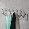Picture of Aluminum Wardrobe Hook Coat Rack Hat/Tie Hanger Silver