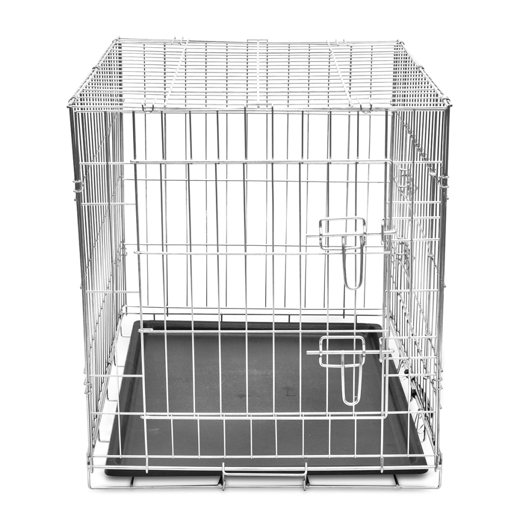 Picture of Animal Foldable Metal Dog Cage Bench - M