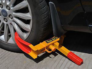 Picture of Anti-Theft Towing Wheel Lock Clamp Boot Tire Claw