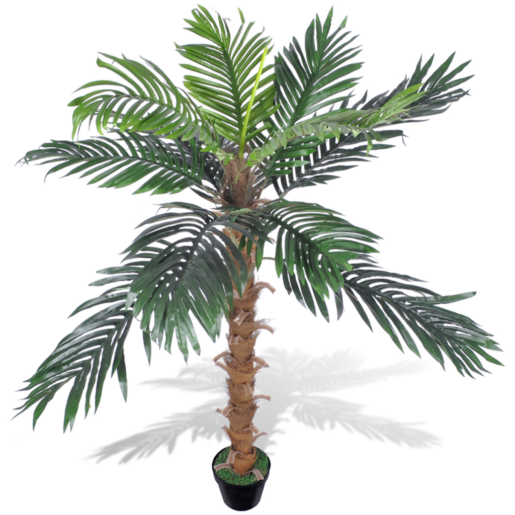Picture of Artificial Plant Coconut Palm Tree with Pot 55""