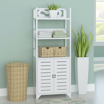 Picture of Bathroom Cabinet - White 18""