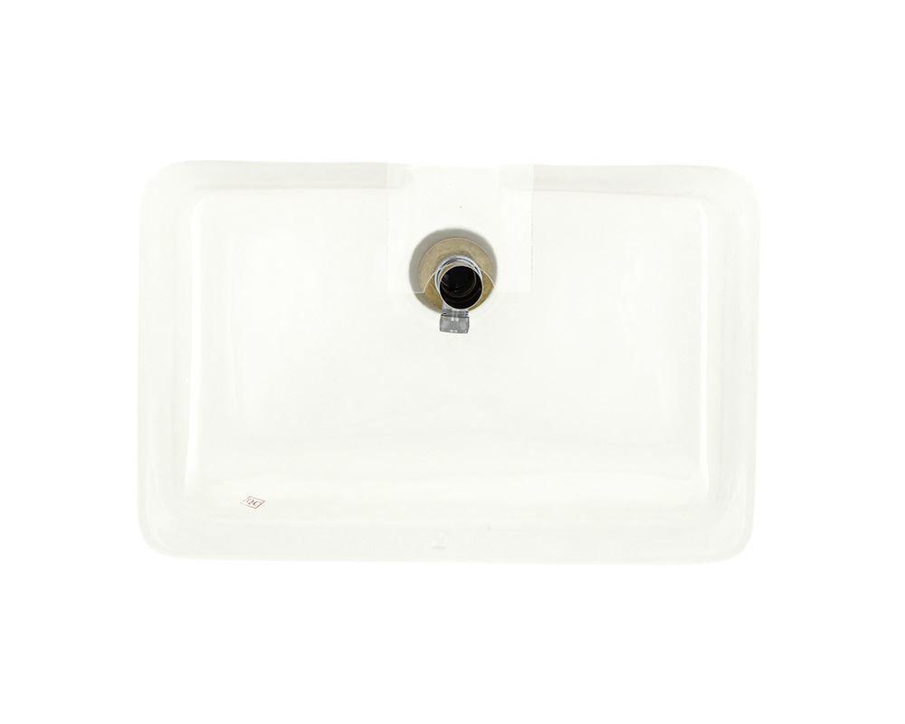 Picture of Bathroom Rectangular Undemount Sink