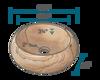 Picture of Bathroom Sandstone Sink Vessel