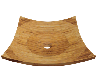 Picture of Bathroom Sink - Bamboo Vessel