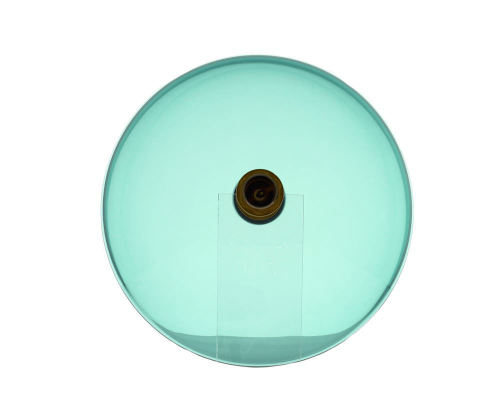 Picture of Bathroom Sink Bow-Shaped Vessel - Colored Glass