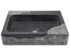 Picture of Bathroom Sink Granite Vessel - Impala Black