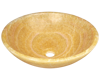 Picture of Bathroom Sink Honey Onyx Vessel