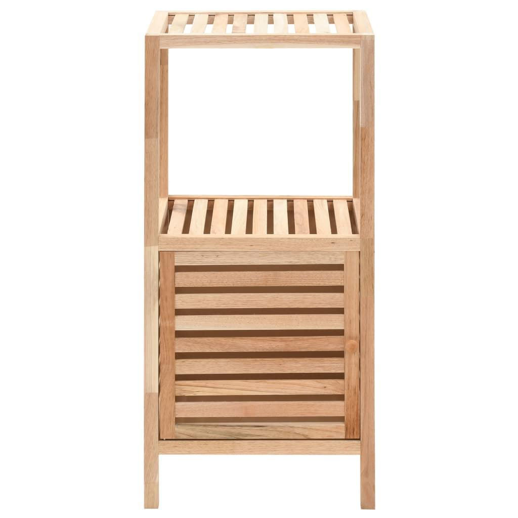 Picture of Bathroom Storage Cabinet - Solid Walnut Wood