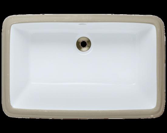 Picture of Bathroom Undermount Rectangular Sink