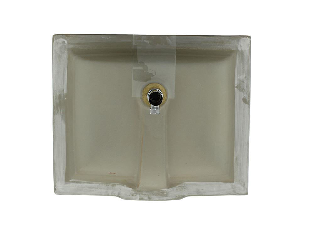 Picture of Bathroom Undermount Sink Rectangular Porcelain
