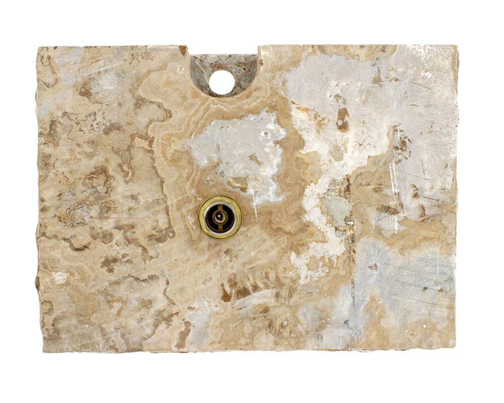 Picture of Bathroom Vessel Sink - Golden Silk Onyx