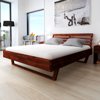 Picture of Bedroom Furniture Wooden Bed Frame Lacquer Finishing - King Size