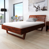 Picture of Bedroom Furniture Wooden Bed Frame Lacquer Finishing - Queen Size