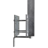 """Picture of Boat Trailer Solid Bar Bow Support Set of 2 2' - 2' 10"""""""