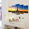"""Picture of Canvas Wall Print Set Eiffel Tower 79"""" x 39"""""""