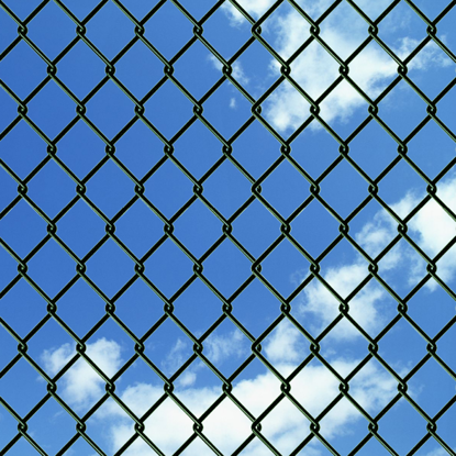 "Picture of Chain Fence 3' 3"" x 82' Green"