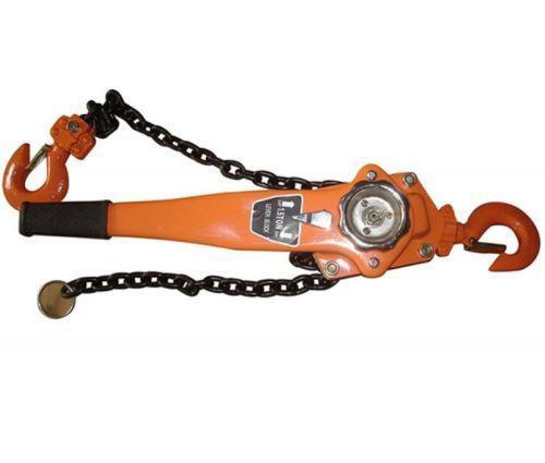 Picture of Chain Lever Block Hoist Come Along Ratchet Lift 1.5 Ton 3000lb Capacity