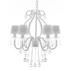 """Picture of Chandelier White 21""""x22"""""""
