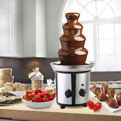 Picture of Chocolate Fondue Fountain 4 Tiers