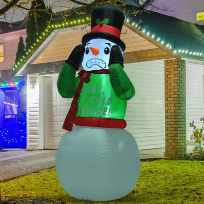Picture of Christmas Decor 7ft Inflatable Snowman