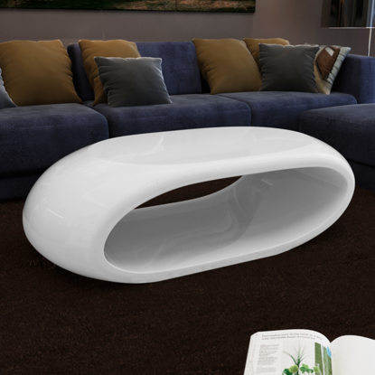 Picture of Coffee Table Hollow High Gloss White