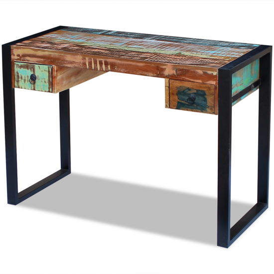 Picture of Computer Desk Table - Reclaimed Wood