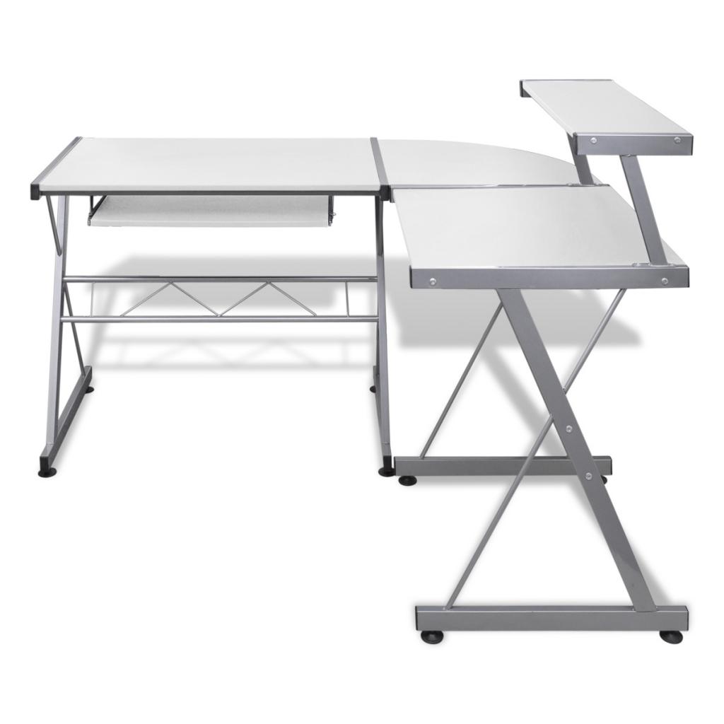 Picture of Computer Desk - White