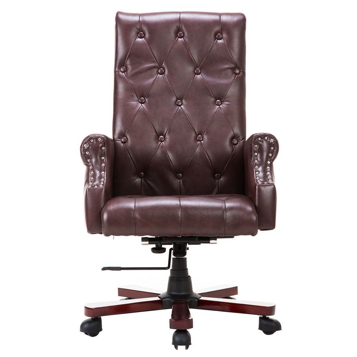 Picture of Desk Office Chair Modern High Deluxe PU Leather Accent Chair