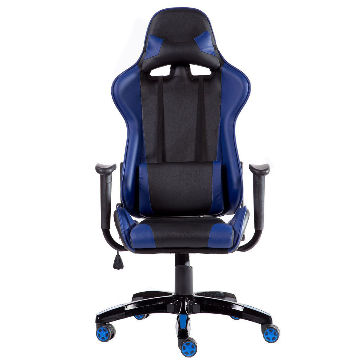 Picture of Desk Office Chair Race - Black and Blue